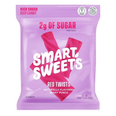 SmartSweets Red Twists - 1.8oz