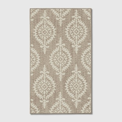 1'8 X2'10  Paisley Tufted Accent Rugs Gray - Threshold™