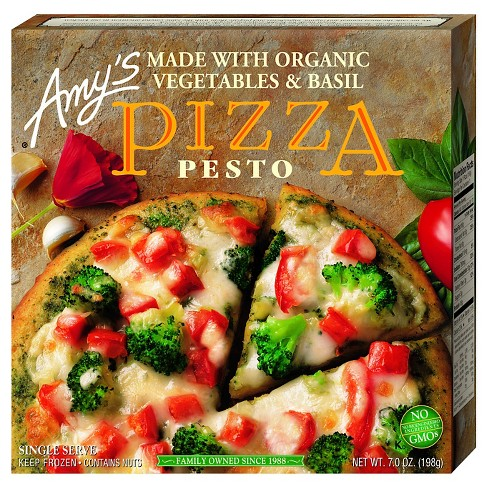 Amy's Frozen Pesto Pizza - 7oz - image 1 of 1