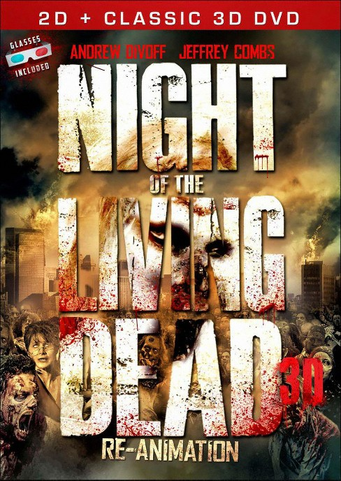 Night of the living dead 3d (DVD) - image 1 of 1