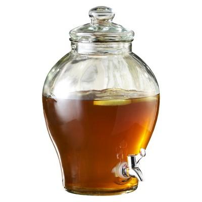 Sanford Glass Beverage Dispenser - Clear