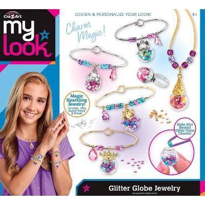 My Look Glitter Globe Jewelry by Cra-Z-Art