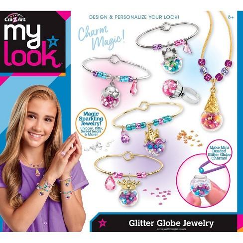 My Look Glitter Globe Jewelry by Cra-Z-Art - image 1 of 4