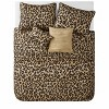 VCNY Home Cheetah Reversible Quilt Set - image 3 of 4