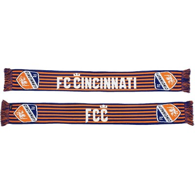 MLS FC Cincinnati Knit Stripes Scarf