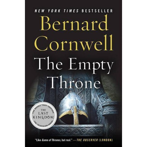 The Empty Throne - (Saxon Tales) by  Bernard Cornwell (Paperback) - image 1 of 1