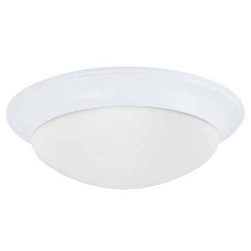 Sea Gull Lighting One Light Ceiling Fixture - White - image 1 of 1
