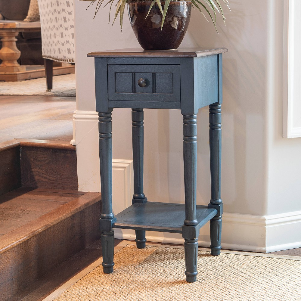 Promos Simplify One Drawer Accent Table  - Décor Therapy