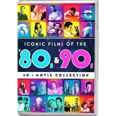 Iconic Movies of the '80s & '90s 20-Movie Collection (DVD)(2020)