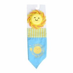 Sunshine Bandana & Bowtie Collar Slide Set for Dog - Sun Squad™
