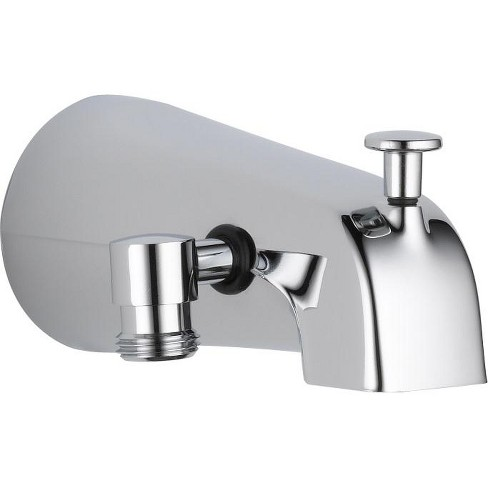 Delta Faucet U1072 Pk Delta U1072 Pk 5 1 4 Diverter Wall Mounted Tub Spout With Hand Shower Connection Target