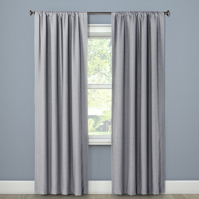 Blackout Curtain Panel Masonry Gray 84  - Project 62™