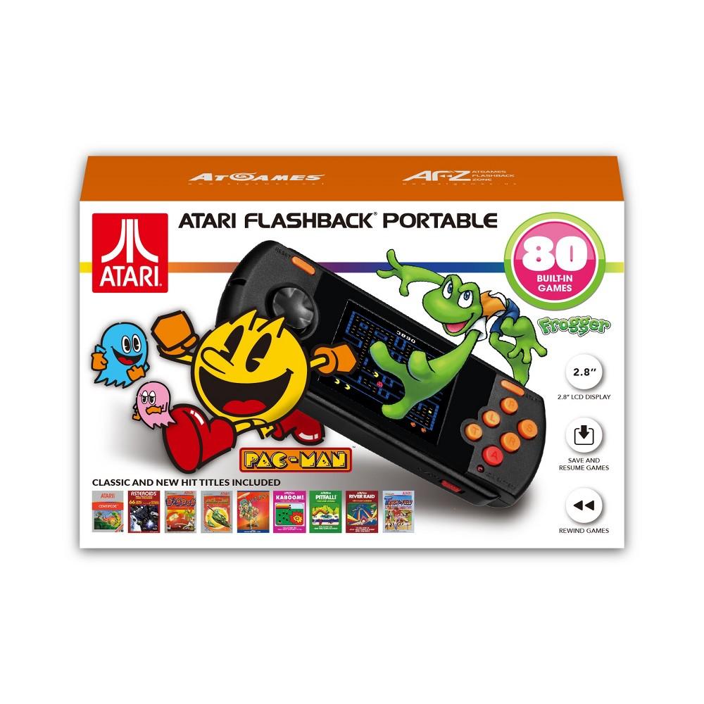 Atari Flashback Portable, video game consoles Atari Flashback Portable, video game consoles Color: White. Gender: unisex.