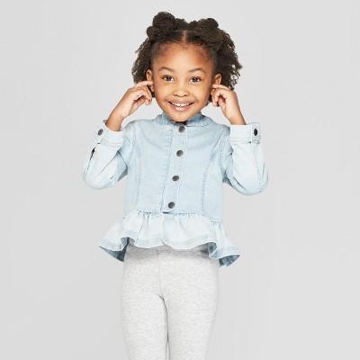 Toddler Girls' Ombre Denim Jacket - Genuine Kids® from OshKosh Blue 18M