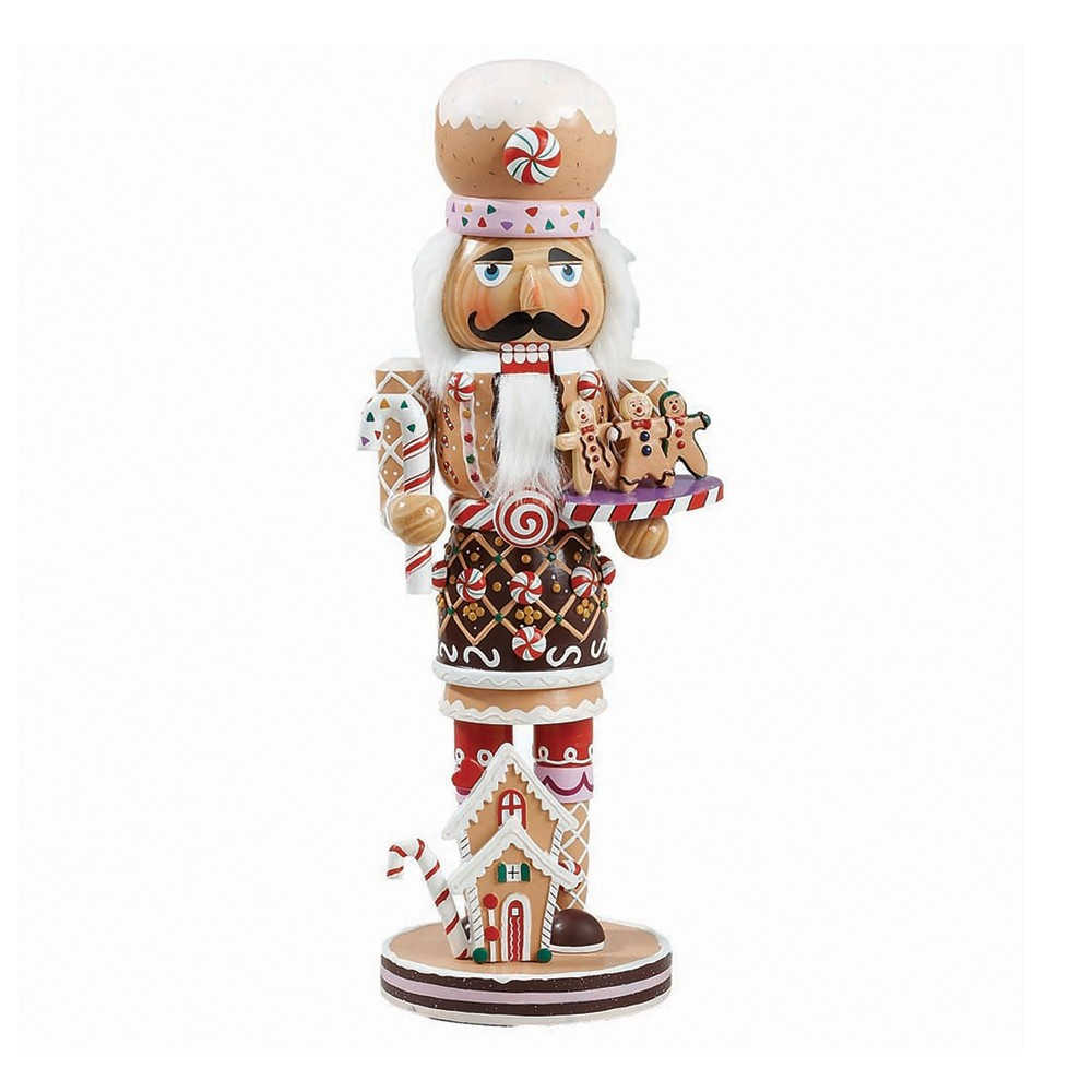 "Image of ""16"""" Gingerbread Nutcracker"""
