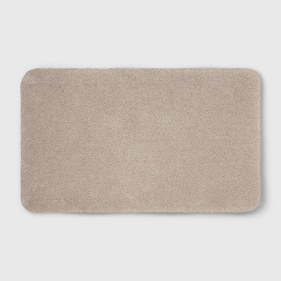 Perfectly Soft Nylon Solid Bath Rug Sandalwood Tan - Opalhouse™