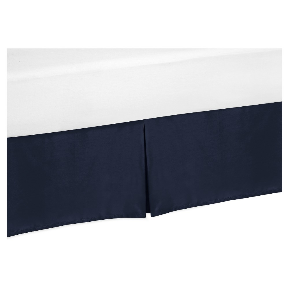 Image of Bed Skirt Navy - Sweet Jojo Designs, Blue