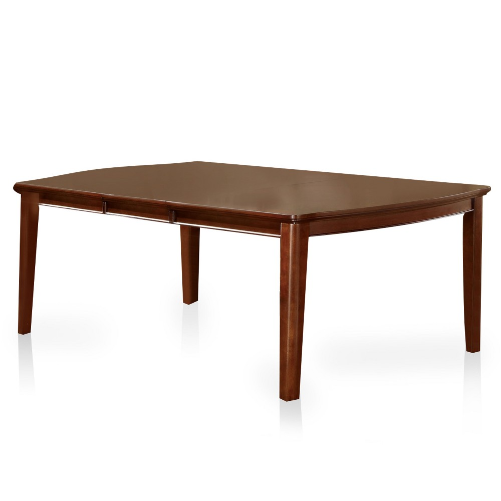 Sun & Pine Simple Dining Table Wood/Brown Cherry