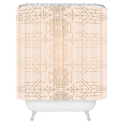 Holli Zollinger ESPRIT Shower Curtain Beige - Deny Designs