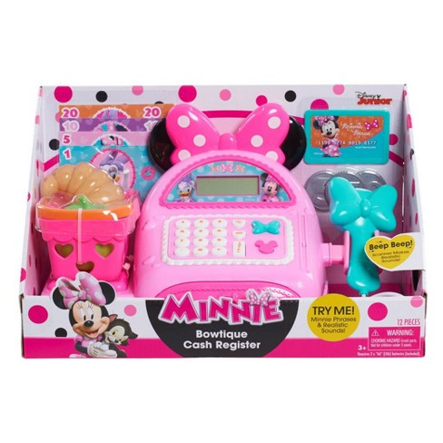 Minnie Mouse Bow Tique Cash Register Pink Teal Target