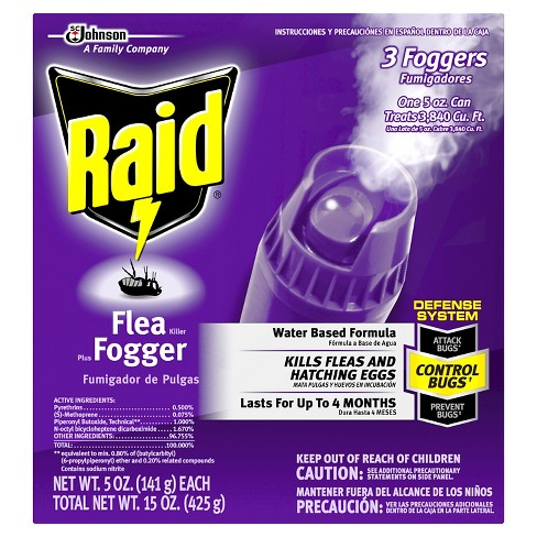 Raid Flea Killer Plus Fogger 15oz - image 1 of 2