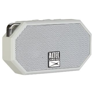 Altec Mini H2O Bluetooth Waterproof Speaker - Gray