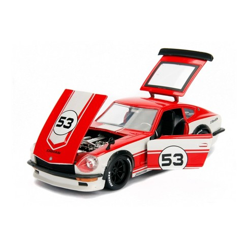 Jada Toys JDM Tuners 1972 Datsun 240Z Die-Cast Vehicle 1:24 Scale Glossy Red - image 1 of 4