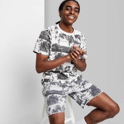 Men's Rolled Collar Knit T-Shirt - Original Use™ Black