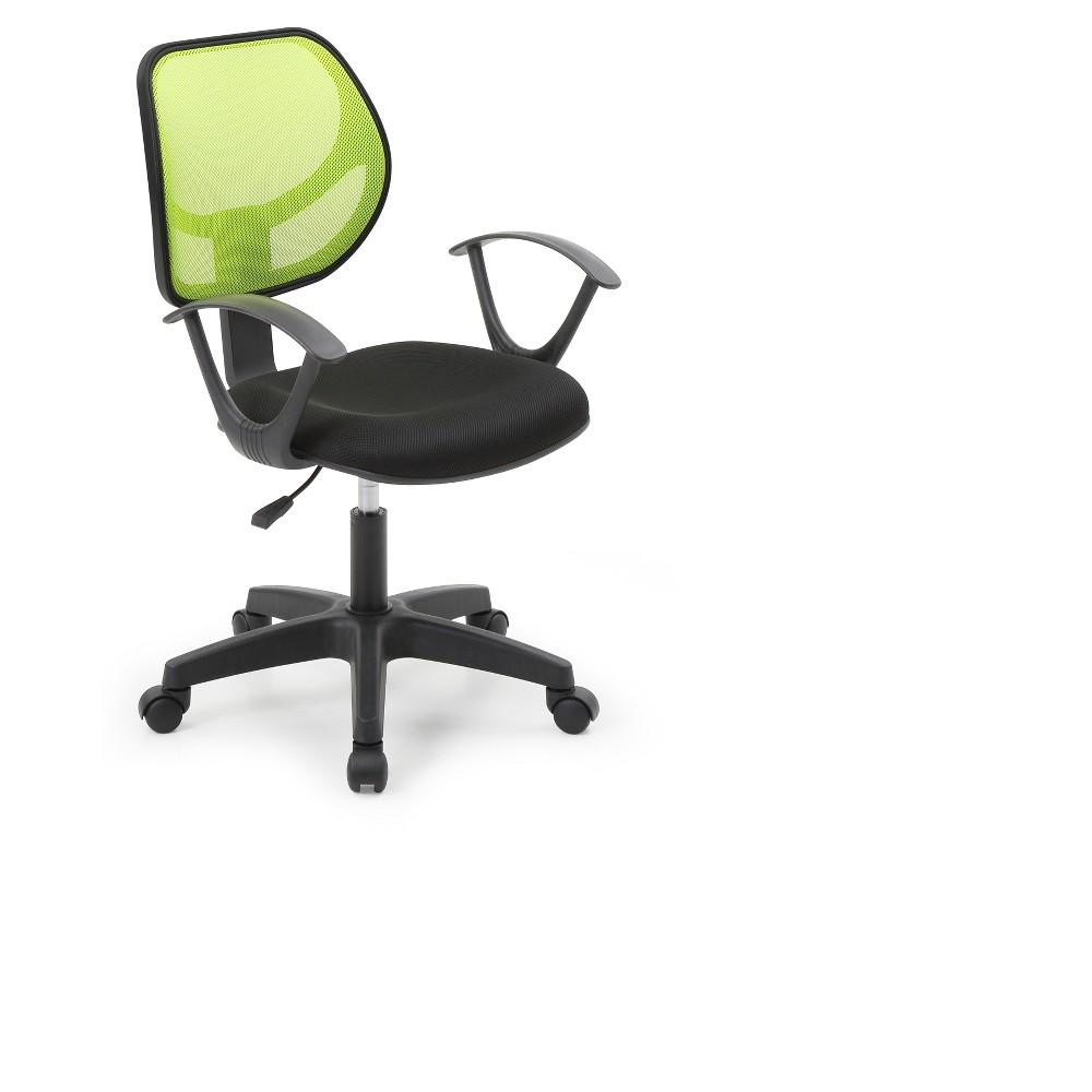 Image of Hodedah Import Office Chair - Green