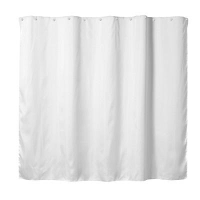 Fabric Shower Liner White - Hookless