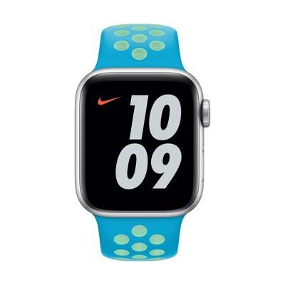 Apple Watch 40mm Nike Sport Band - Chlorine Blue/Green Glow