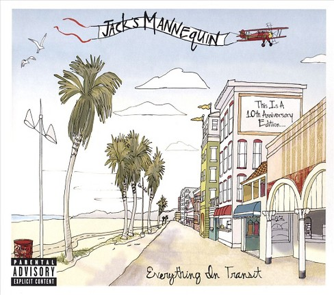 Jack's mannequin - Everything in transit (10th ann ed) [Explicit Lyrics] (CD) - image 1 of 1