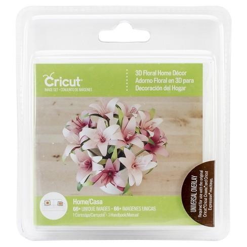 Cricut Project Cartridge 3d Floral Home Decor Target