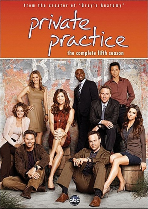 Private Practice: The Complete Fifth Season (dvd_video) - image 1 of 1