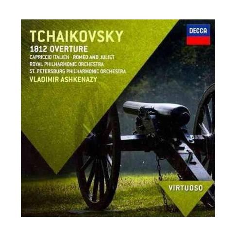 Virtuoso: Tchaikovsky- 1812 Overture/Capriccio Italien/Romeo & Juliet (CD) - image 1 of 1