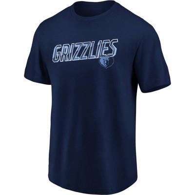NBA Memphis Grizzlies Men's Bi-blend Short Sleeve T-Shirt