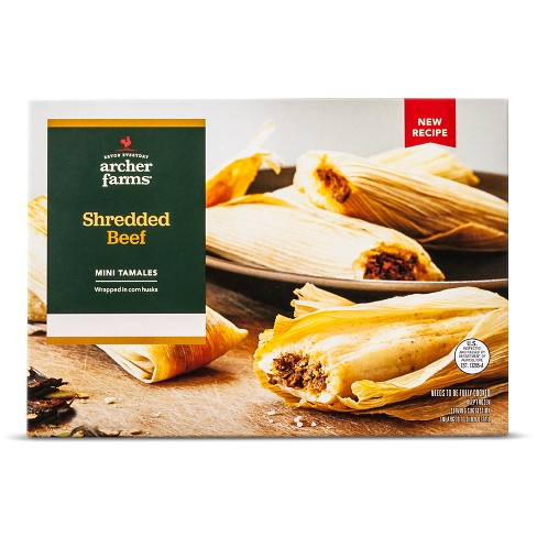Shredded Beef Tamales 14oz - Archer Farms™ - image 1 of 1