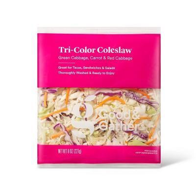 Tri-Color Coleslaw - 8oz - Good & Gather™