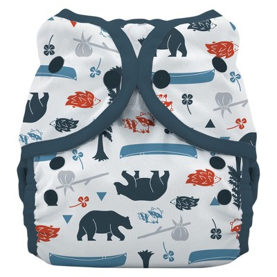 Thirsties Snap Duo Wrap Diaper, Size One - Adventure Trail