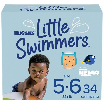 Huggies Little Swimmers Baby Swim Disposable Diapers - Size 5 - 34ct