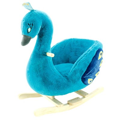 Soft Landing Peacock Rocker