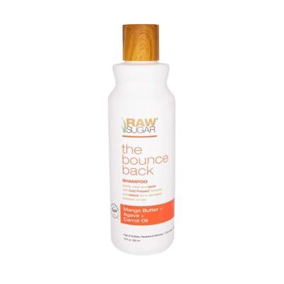 Raw Sugar Shampoo Mango Butter + Agave + Carrot Oil - 18 fl oz
