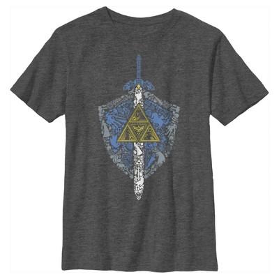 Boy's Nintendo Legend of Zelda Hidden Pattern T-Shirt