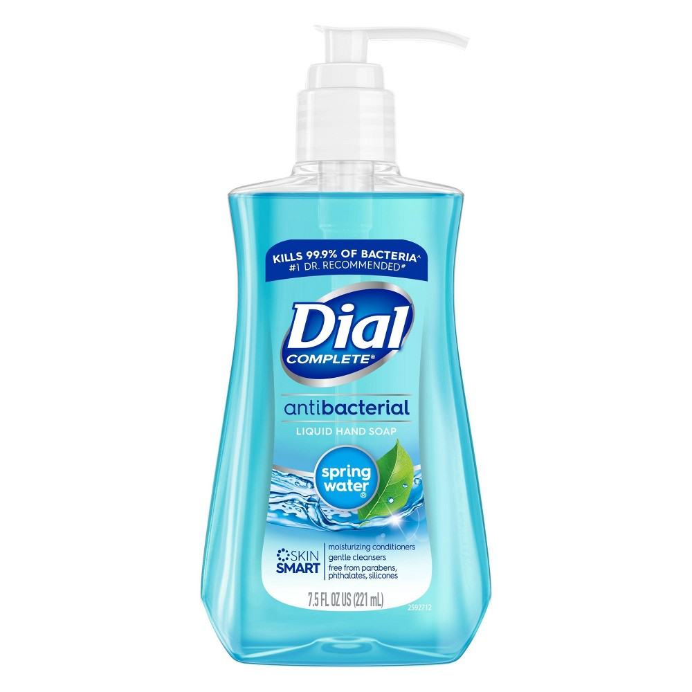 Image of Dial Antibacterial Hand Soap - Spring Water 7.5 fl oz