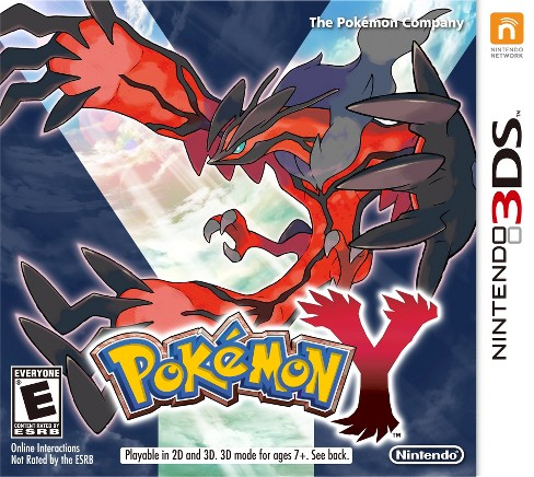 Pokemon Y Nintendo 3DS - image 1 of 1