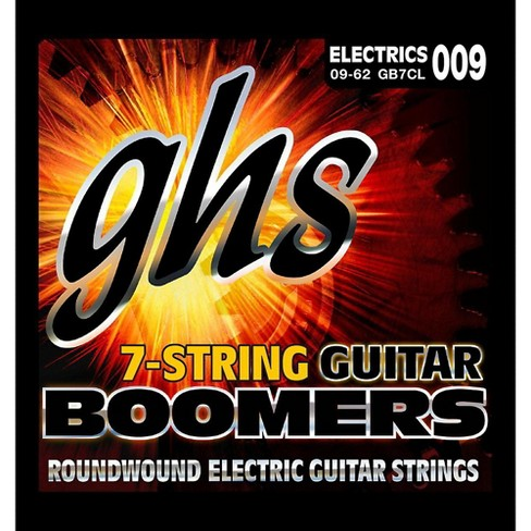 GHS Boomer 7-String Custom Light Electric Guitar Set (9-62) - image 1 of 1