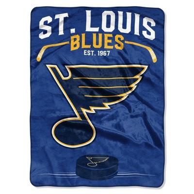 NHL St. Louis Blues Inspired Raschel Throw