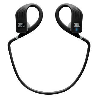 JBL Endurance Jump Wireless Around-the-Ear Headphones - Black (JBLENDURJUMPBLK)