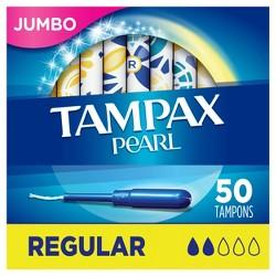 Tampax Pearl Regular Absorbency Tampons