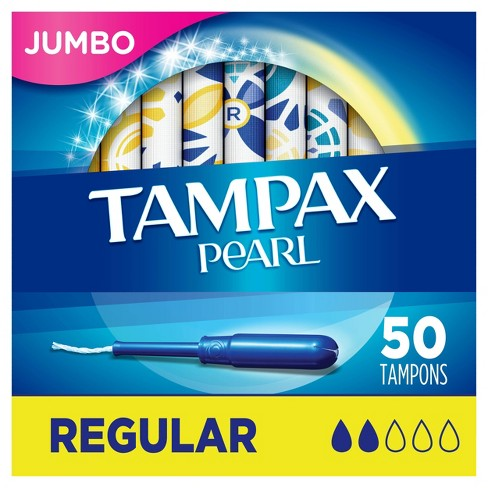 Tampax Pearl Regular Absorbency Tampons - image 1 of 4